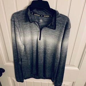 Champion 1/4 zip running shirt